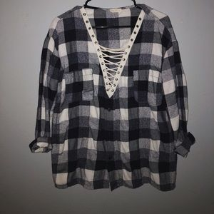 Plaid top from Windsor - great condition